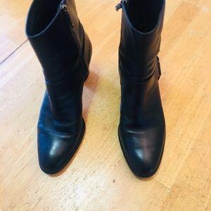 Cole Haan Women's Black Ankle Boots D32427